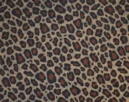 cheetah print wrapping paper animal print tissue etsy