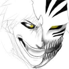 hollow ichigo sketch by ralok on deviantart