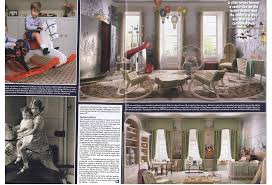 royal nursery designs in hello magazine rocking horse news