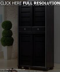 Tall Storage Cabinet With Doors And Shelves by Tall Wood Storage Cabinets With Doors And Shelves Cymun Designs