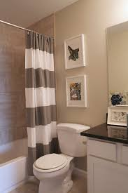Bathrooms With Shower Curtains Bathroom With Shower Curtain Bathroom Design And Shower Ideas