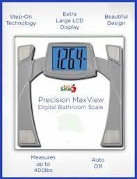 Eatsmart Digital Bathroom Scale by Not Only Is The Precision Maxview Digital Bathroom Scale From
