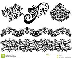 ornament stock vector illustration of design 31640215