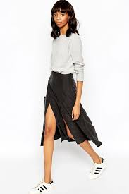 under 50 a crazy cool black spliced skirt le fashion bloglovin u0027