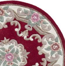Red Round Rugs by Red Lotus Chinese Round Rugs Only 80