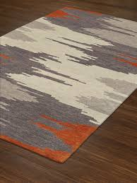 Modern Rugs Sale Dalyn Area Rugs Impulse Rugs Is6 Orange 5x8 6x9 Rugs Rugs