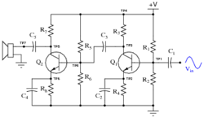 multi stage transistor amplifiers discrete semiconductor devices