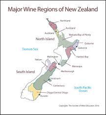 Map New Zealand New Zealand U2013 Swe Map 2017 U2013 Wine Wit And Wisdom