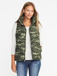 Womens Military Vest Womens Coats U0026 Outerwear Old Navy