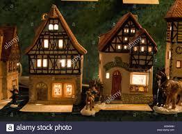 bavarian porcelain houses on sale at the nuremberg