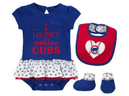 cubs newborn fan club chicago cubs mlb baby clothing lids com