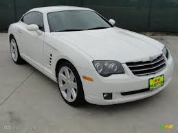 2004 alabaster white chrysler crossfire limited coupe 42990246