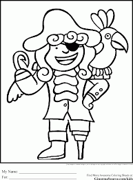 download coloring pages pirate coloring jake pirate