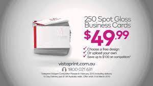 Vistaprint 10 Business Cards Vistaprint Business Cards U0026 Spot Gloss Commercial Manuel Vicente