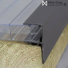 10mm polycarbonate glazing bars and fixings ebay construccion