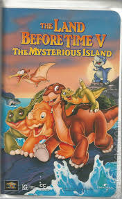 the land before time v the mysterious island vhscollector com