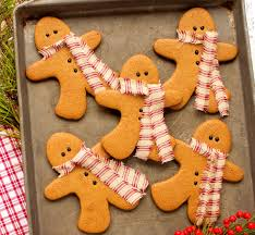 gingerbread cookies as decorations the bearfoot baker