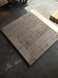 Free Small Wooden Table Plans by Square Coffee Table W Planked Top Free Diy Plans