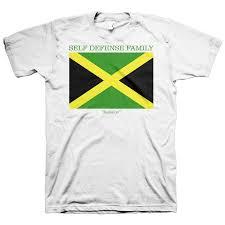 Jamaican Flag Shirt Self Defense Family Tagged