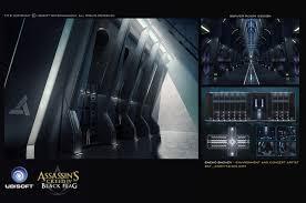 server room design video games artwork