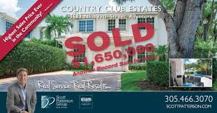 record sale price record breaking sale for home country estates home in