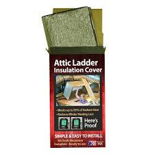 reach barrier 3139 air double reflective pull down attic ladder