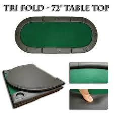 poker table top and chips green 72 tri fold poker chip table top with cup holders for the