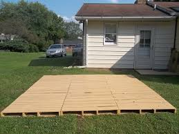 how to build a portable deck for rv deks and tables decoration