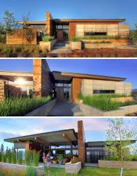 desert home plans prairie style architecture rustic modern earth wood steel