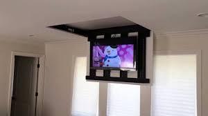 marvellous motorized tv mount photo decoration ideas andrea outloud