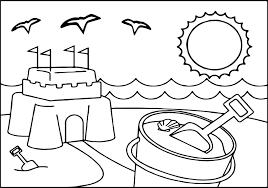 summer free coloring kids coloring pages wecoloringpage