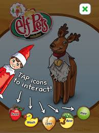 on the shelf reindeer pets reindeer on the app store