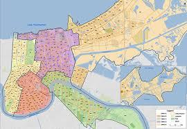 orleans map orleans city council