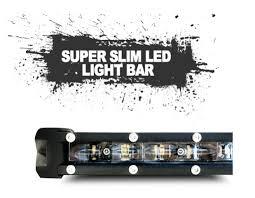 20 single row led light bar 20 120 watt slim dual row led light bar code 4 led supply
