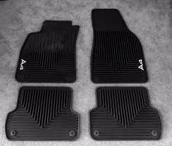 genuine audi a4 car mats for sale audi rubber all weather floor mats a4 s4