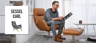 Esszimmertisch Contur Tv Sessel Carl In Leder U0026 Stoff Contur Raum Freunde