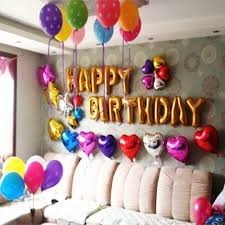 letter balloons foil membrane happy birthday gold set party balloons letter