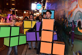 Tetris Halloween Costume Natty Nittany Halloweekend Edition Onward