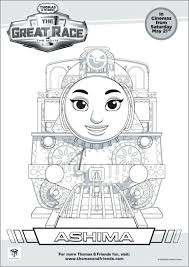 thomas tank engine coloring pages friends printable train