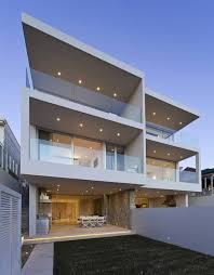 Duplex Building by Modern Duplex With Views Of Sydney Harbour Idesignarch