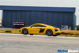 Audi R8 Yellow 2016 - 2016 audi drive experience driving the r8 v10 plus motorbeam