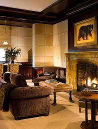 Living Room Uplighting Wildcat Residence Idyllic Valley Retreat Adopts European Country