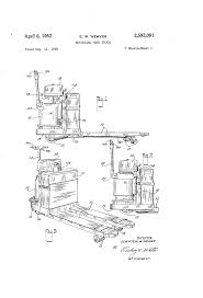 patent us2592091 motorized hand truck google patents