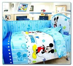 Mickey Mouse Crib Bedding Sets Mickey Mouse Crib Bedding Set Baby Hamze