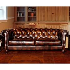 leather sofa free delivery lazzaro beaufort leather sofa free shipping today overstock com