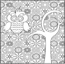 free coloring pages difficult patterns draw paint images
