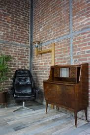 Wall Secretary Desk Danish Vintage Secretary Desk With Brass Feet 1960s For Sale At
