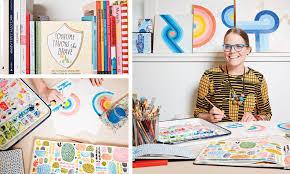 Fine Art to Adult Coloring Books Portlander Lisa Congdon Makes