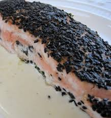 sesame seed and nori crusted salmon karista s kitchen travel to new locations family visits and lots of delicious food that has inspired me to develop a new collection of tantalizing recipes for the