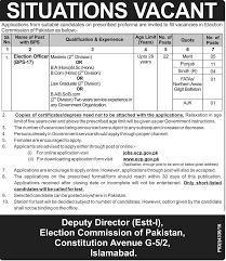 election officer ecp mcqs test sample papers 2017 election